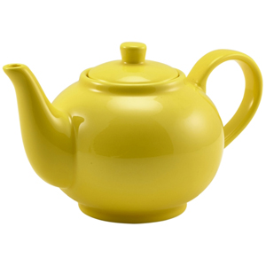 Royal Genware Teapot Yellow 16oz / 450ml