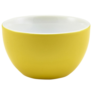 Royal Genware Sugar Bowl Yellow 6oz / 175ml