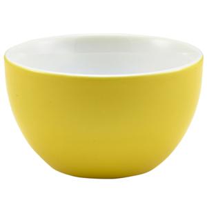 Royal Genware Sugar Bowl Yellow 6oz / 175ml