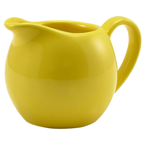 Royal Genware Jug Yellow 5oz / 140ml