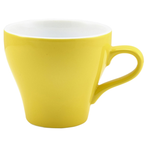 Royal Genware Tulip Cup Yellow 12.25oz / 350ml
