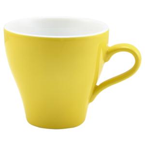 Royal Genware Tulip Cup Yellow 6.25oz / 180ml