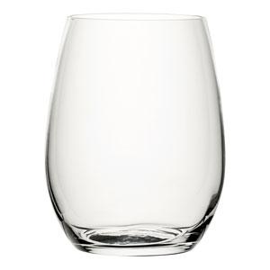Amber Stemless Wine Glasses 20oz / 570ml