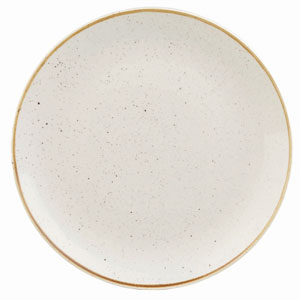 Churchill Stonecast Barley White Coupe Evolve Plate 12inch / 32.4cm