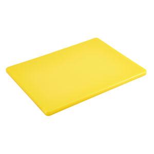 GenWare Yellow Low Density Chopping Board 1/2inch