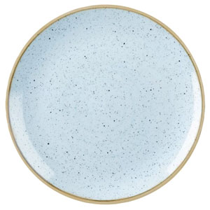 Churchill Stonecast Duck Egg Coupe Evolve Plate 12inch / 32.4cm
