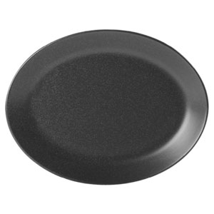 Seasons Graphite Oval Plate 12inch / 30cm