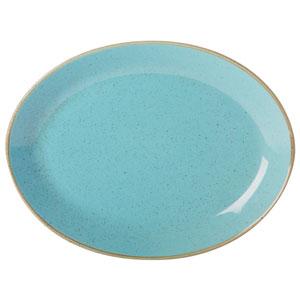 Seasons Sea Spray Oval Plate 12inch / 30cm