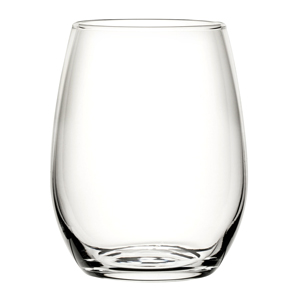 Amber Stemless Wine Glasses 12oz / 350ml