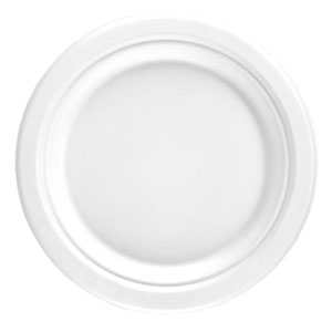 Bagasse Round Plate 6inch / 15.2cm