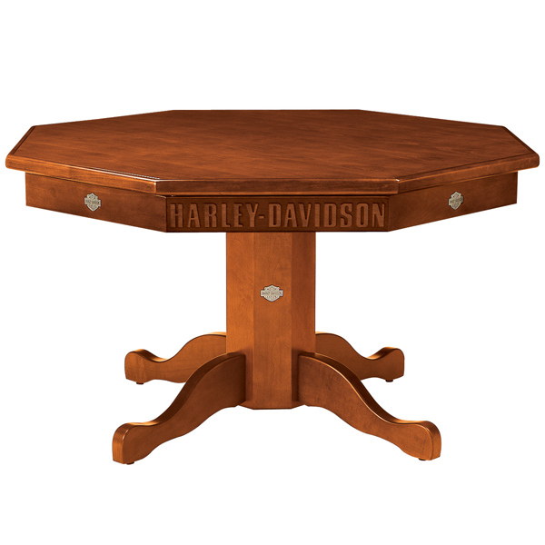 Harley Davidson Poker Table and Chairs
