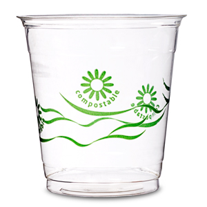 Green Spirit PLA Compostable Tumblers 9oz / 260ml