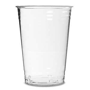 Eco Cup PLA Compostable Half Pint Tumblers LCE at 10oz / 280ml