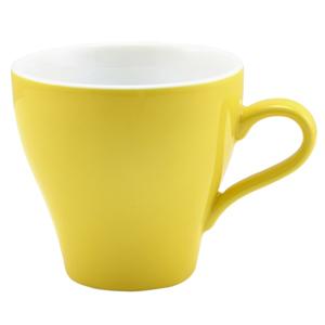 Royal Genware Tulip Cup Yellow 10oz / 280ml