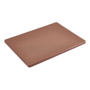 Genware Brown Low Density Chopping Board 1/2inch