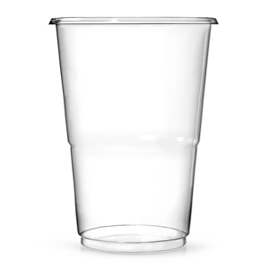 Oxo-Biodegradable Flexy Glasses Half Pint to Rim CE 10oz / 285ml