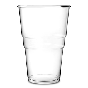 Oxo-Biodegradable Flexy Glasses Pint to Brim CE 20oz / 568ml
