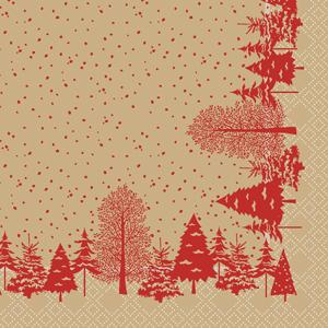 Swantex Winter's Tale Napkins 33cm 2 Ply