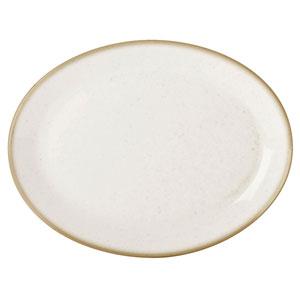 Seasons Oatmeal Oval Plate 12inch / 30cm