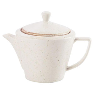 Seasons Oatmeal Conic Tea Pot 18oz / 500ml