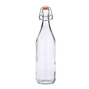 Genware Glass Swing Bottle 35oz/1ltr