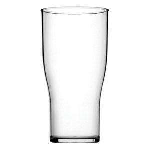 Plastic CE Marked Tulip Pint Glass 20oz / 570ml