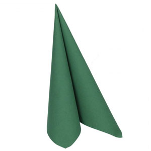 Dunilin Napkins Dark Green 40 x 40cm