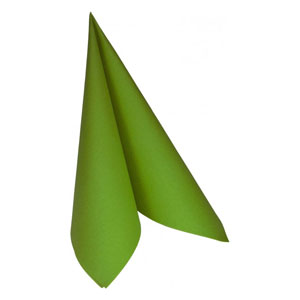 Dunilin Napkins Leaf Green 40 x 40cm