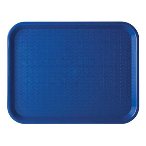 Blue Cafe Tray 14 x 10inch / 36 x 26cm