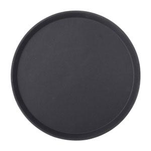 Black Non Slip Tray Round 14inch / 35.5cm