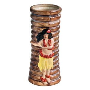 Hula Girl Tiki Mug 11.25oz / 320ml