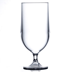 Elite Polycarbonate Goblets Clear 20oz / 570ml CE Pint