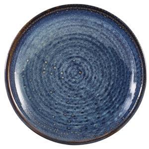 Terra Porcelain Aqua Blue Deep Coupe Plate 8.2inch / 21cm