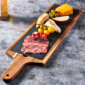 Acacia Wood Serving Board 68 x 18cm