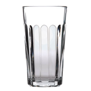 Panelled Beverage Glasses 12.25oz / 350ml