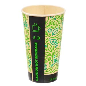 Ultimate Eco Bamboo Hot Drink Cup 16oz / 440ml