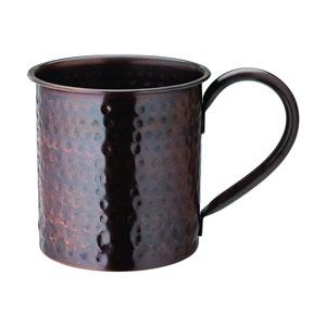 Aged Copper Hammered Mug 19oz / 540ml