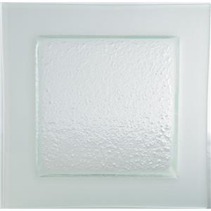Gobi Square Plate Frost Edge 12.5inch / 32cm