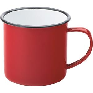 Eagle Enamel Red Mug 13.5oz / 380ml