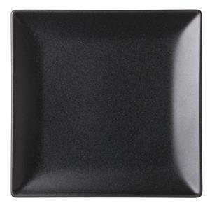 Noir Square Black Plate 7inch / 18cm