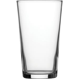 Toughened Conical CE Glasses 10oz / 280ml