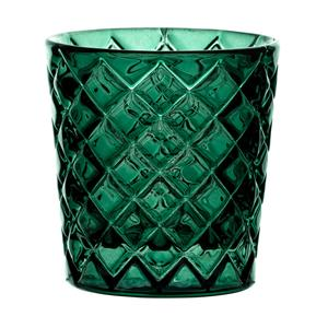 Criss Cross Green Nightlight Holder