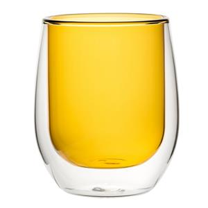Double Wall Water Glass Amber 9.7oz / 270ml