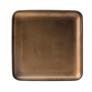 Fondant Plate Gold 8inch / 20cm