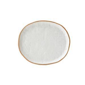 Hessian Plate 21.3cm x 18.3cm