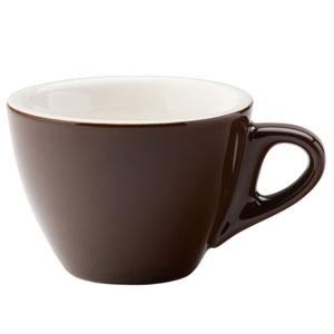 Barista Flat White Brown Cup 5.5oz / 160ml