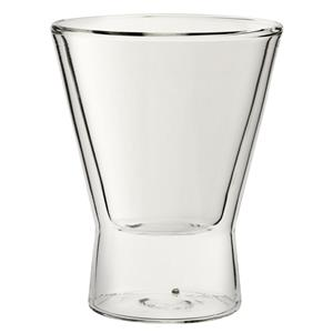 Double Walled V Shaped Glasses 8.75oz / 245ml