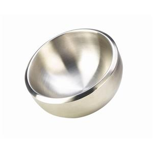 Stainless Steel Double Walled Dual Angle Bowl 24 x 11cm