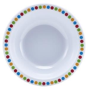 Genware Coloured Circle Melamine Bowl 6inch / 15cm