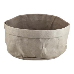 Grey Washable Paper Bag 20 x 14cm